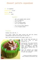 Sweet potato cupcakes - recipe by Melhyria