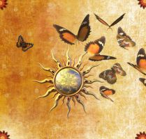 Sun_Butterfly_Wallpaper by SinCityGirl73