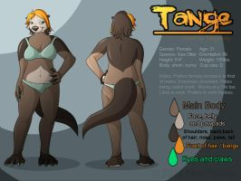 Tange Reference Sheet 2013 by WildTheory