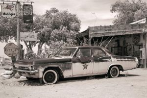 Route 66 - Chevrolet Impala 1965 by HansPeterKolb