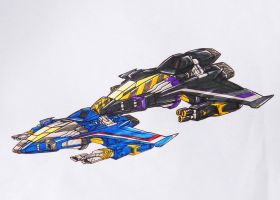 seeker team request: thundercarcker n' skywarp alt by kishiaku