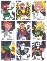 Marvel Universe Sketchcards 08 by thecheckeredman