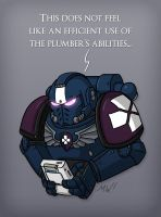 40k: Plumbers Don't Wear Mk. IV by wibblethefish