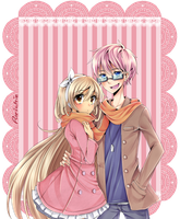 Sweet couple by Purichie