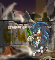Sonic the Fighter by kintobor