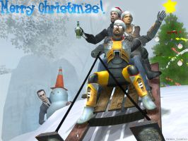 Xmas Gmod Wallpaper by Derwen
