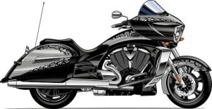 2010 Victory Cross Country by Bmart333