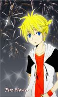 Kagamine Len -Fire Flower- by Black27Neko