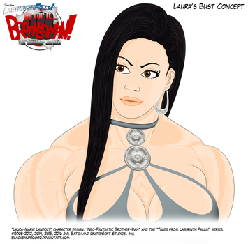 Laura's Bust Concept by BlackSandrock10