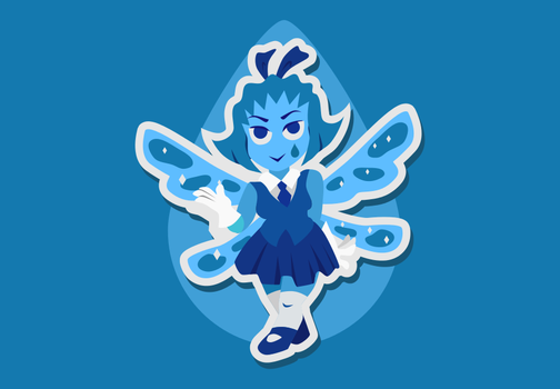 Aquamarine Sticker by ZeekMacard
