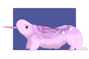 Narwhal by piink-mochi