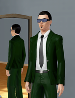 Sims3: Agent Six by Lightnings-Shadow