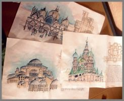 Churches by Elshein