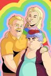 Adventure Time - Jake, Lady and T.V by OwenOak95
