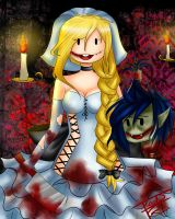 psychotic love~ especial halloween AT by floweers17