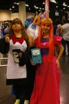 Princess Bubblegum and Ice King? Gunter! by likeaBrony