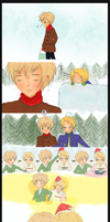 APH USUK Snowfluff by lolliep0ps