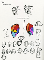 TFA femme head personal notes by LyricaBelachium