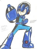 Mega Man by worldofhammy