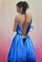 The Blue Dress by Altayr