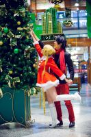 Sailor Moon: Christmas Tree by xxpuffy