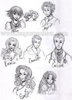 Twilight Manga: Cullen's Clan by I-heart-Link