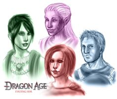 Dragon Age Dating Sim by RPGirl
