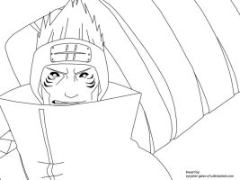 Kisame Hoshigaki lineart by synyster-gates-A7X