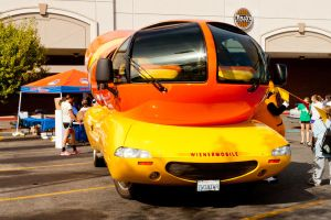 Front of Wienermobile by ShawnHenry