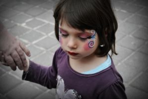 little girl by montterius
