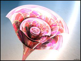 Glass flower by poca2hontas
