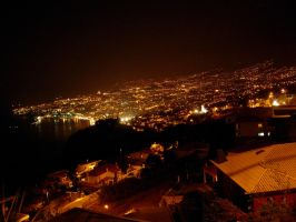 Madeira: Funchal by night by lxddbl