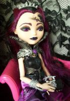 Raven Queen Ever After Custom Doll by AdeCiroDesigns