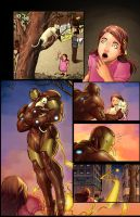 Iron Man Sample page 2 colored by wrathofkhan