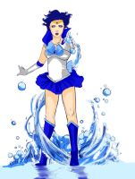 Sailor Mercury REDO by Newsha-Ghasemi