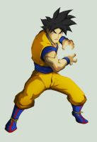 goku colored by Anny-D