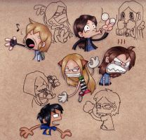 SD Crazy Fun Time 'Spressions by KrysMcScience