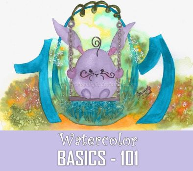 WATERCOLOR: BASICS - 101 by TokyoMoonlight