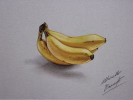 Bananas DRAWING by marcellobarenghi