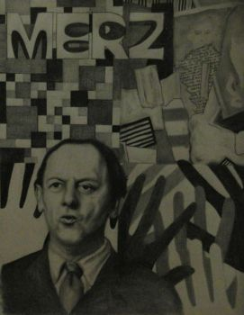 Kurt Schwitters by dollparts21