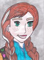 DISNEY FROZEN PRINCESS ANNA by Harley-Jay