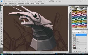 Aggron WIP by Ruth-Tay