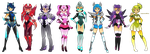 Android girls by Lumaga