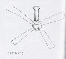 Ceiling Fan No. 2 by RoseSelavy