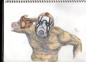 borderlands psycho by mamabear10