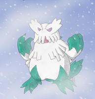 Abomasnow used Blizzard by PracticallyGeeky
