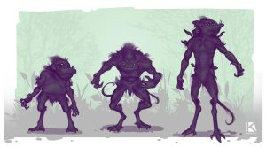 Forest Creatures by Kostya-PingWIN