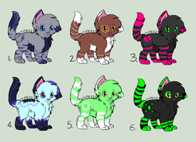 Cheap, adorable Cat Adoptables! OPEN! by DailyAdoptables