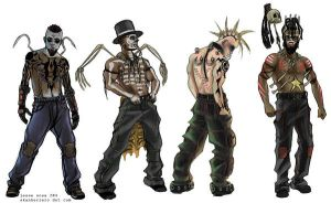 random punk concepts by skankerzero