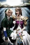 Link x Zelda Cosplay Twilight Princess by Eressea-sama